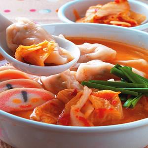 泡菜餃子鍋