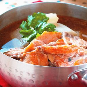 鮭魚石狩鍋
