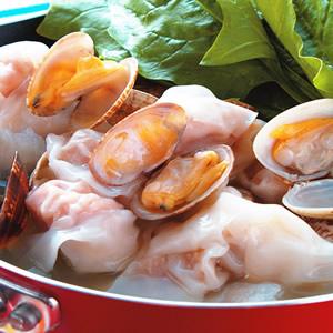 海瓜子餛飩鍋