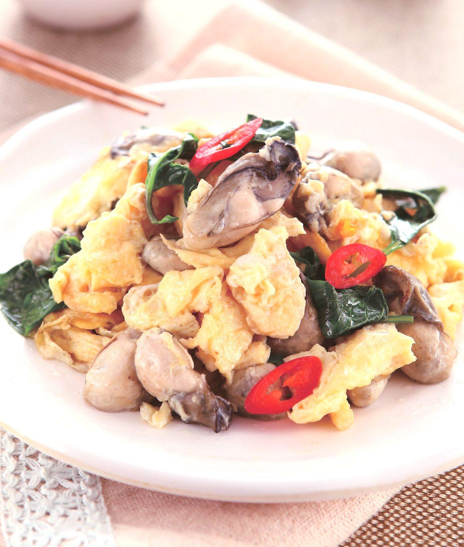 食譜:鮮蚵炒蛋