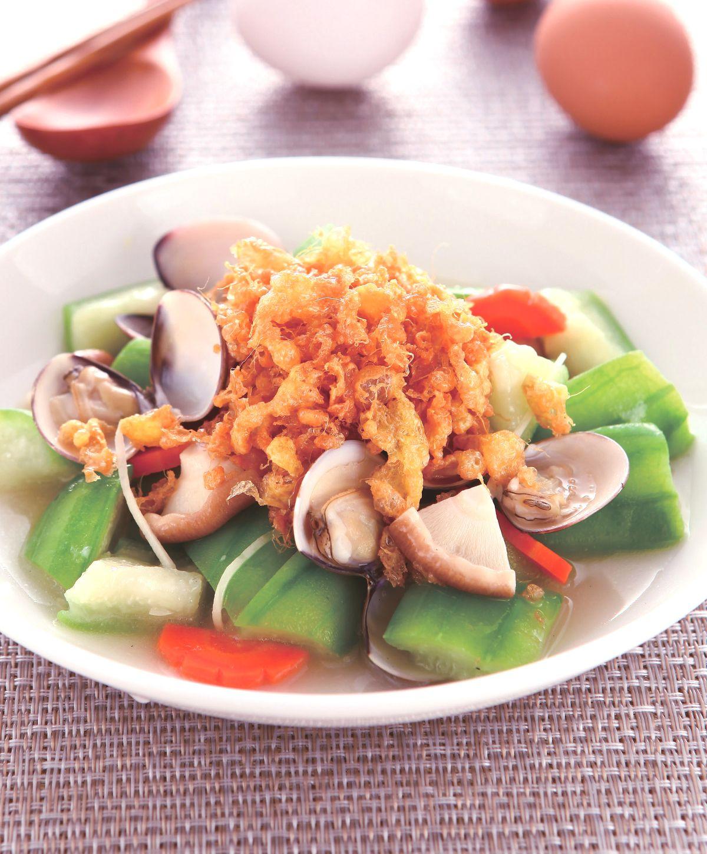 食譜:蛋酥燴絲瓜