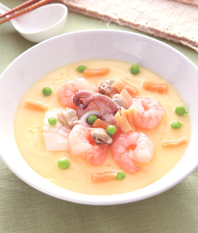 食譜:海鮮蒸蛋(4)