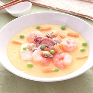 海鮮蒸蛋(4)