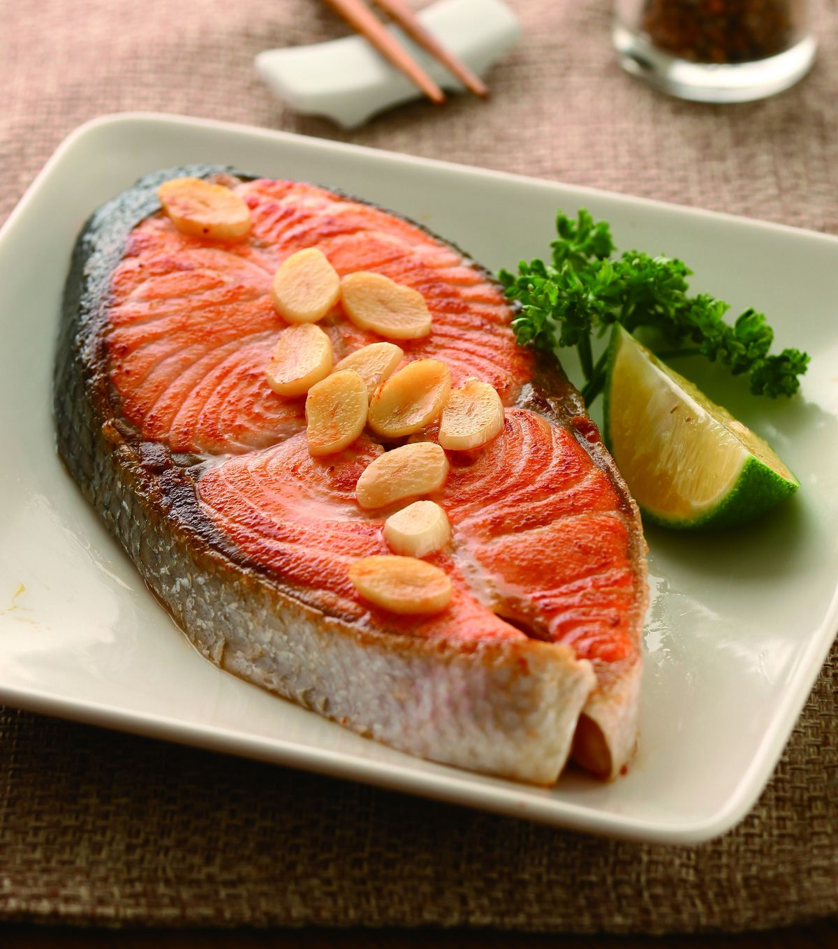 食譜:香煎鮭魚