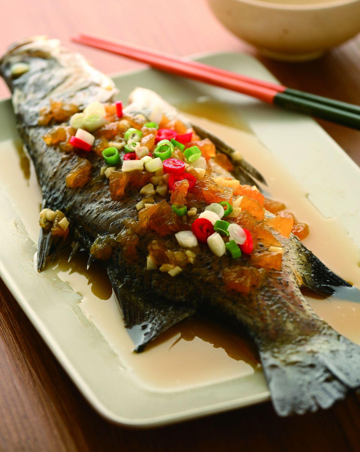 食譜:鹹冬瓜蒸魚(1)