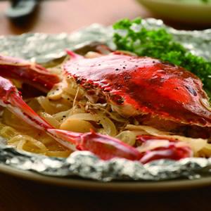 奶油蒸螃蟹