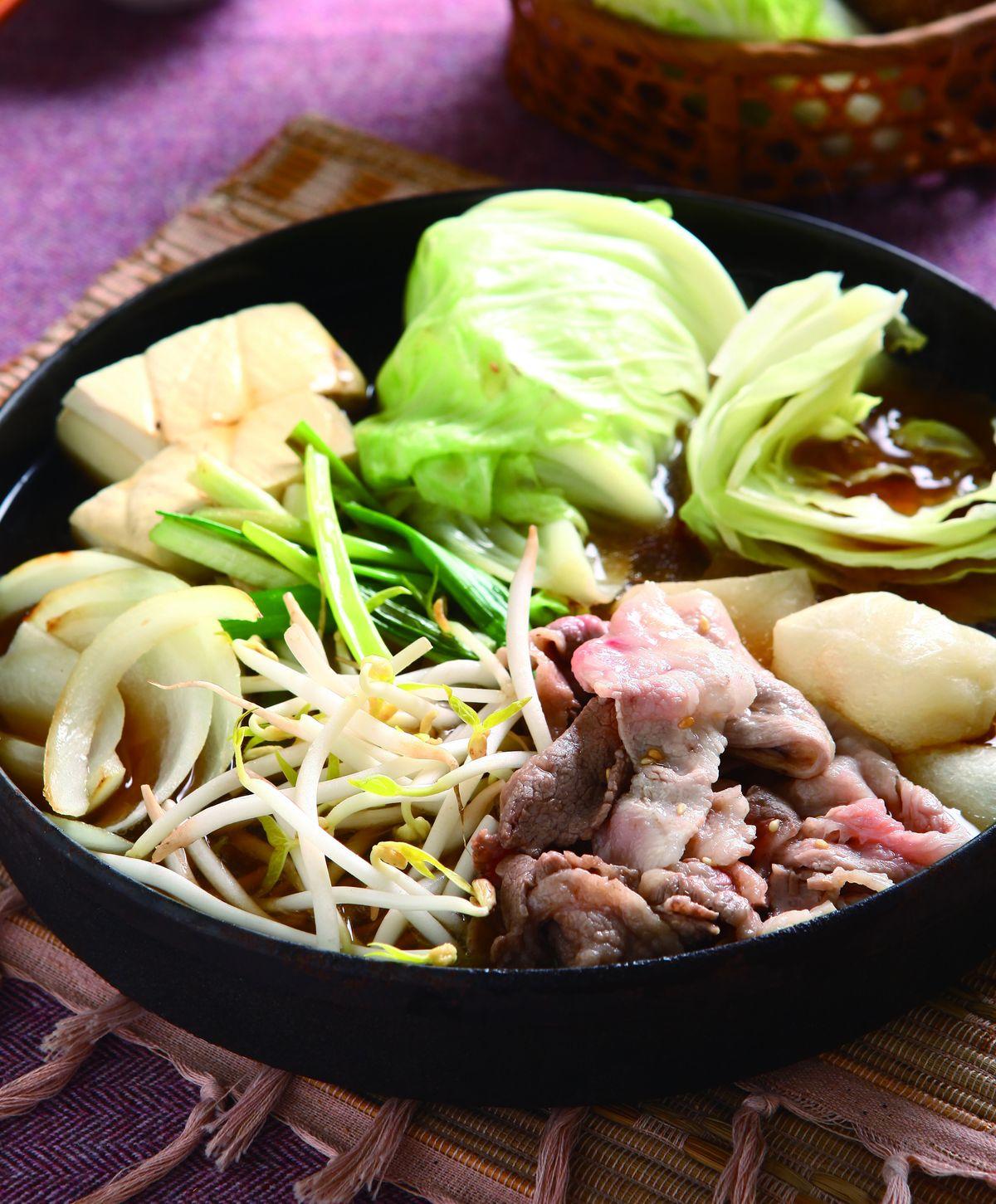 食譜:壽喜湯鍋