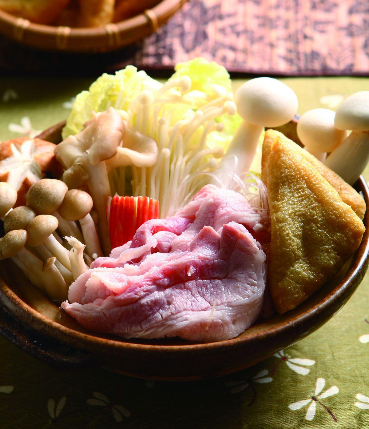 食譜:豆漿味噌鍋