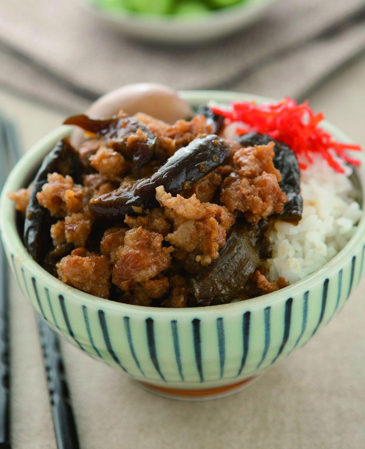 食譜:瓜仔肉燥飯(1)