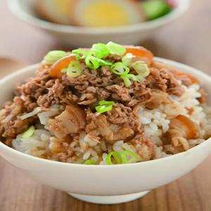 鮪魚香肉燥飯