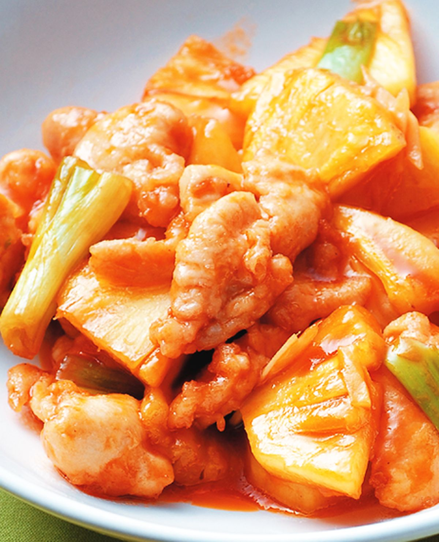 食譜:鳳梨雞片