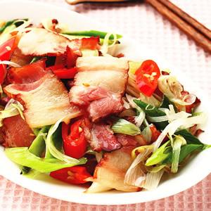 蒜苗臘肉(1)