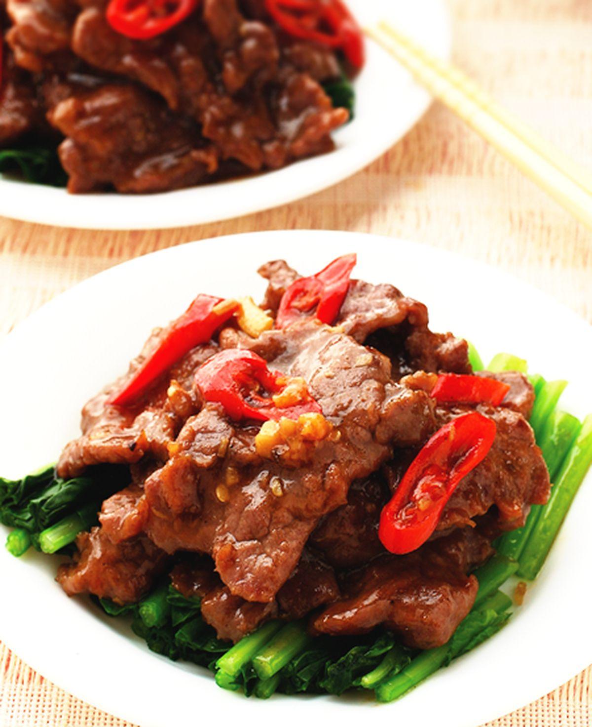 食譜:蠔油牛肉片