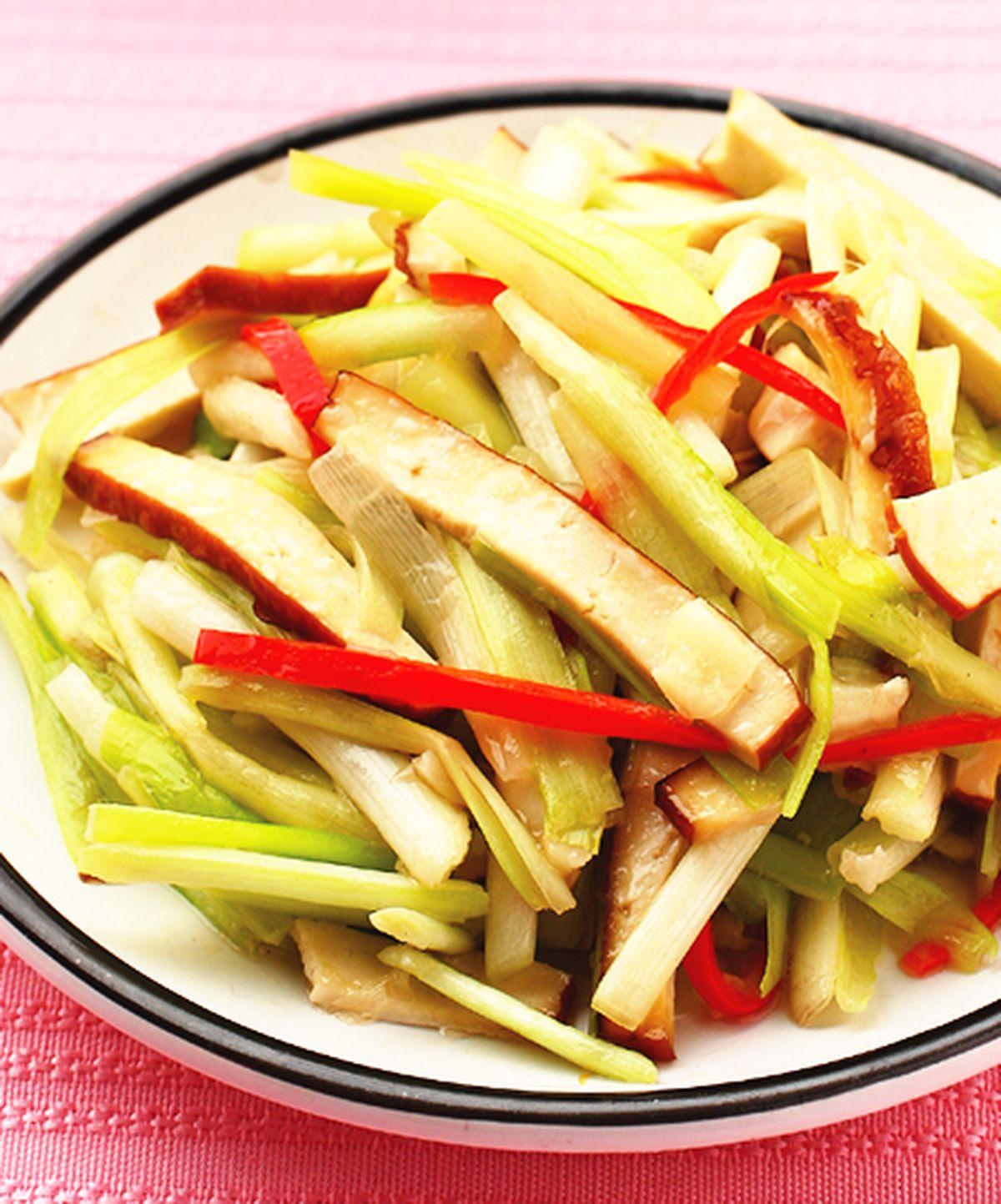 食譜:韭黃豆干
