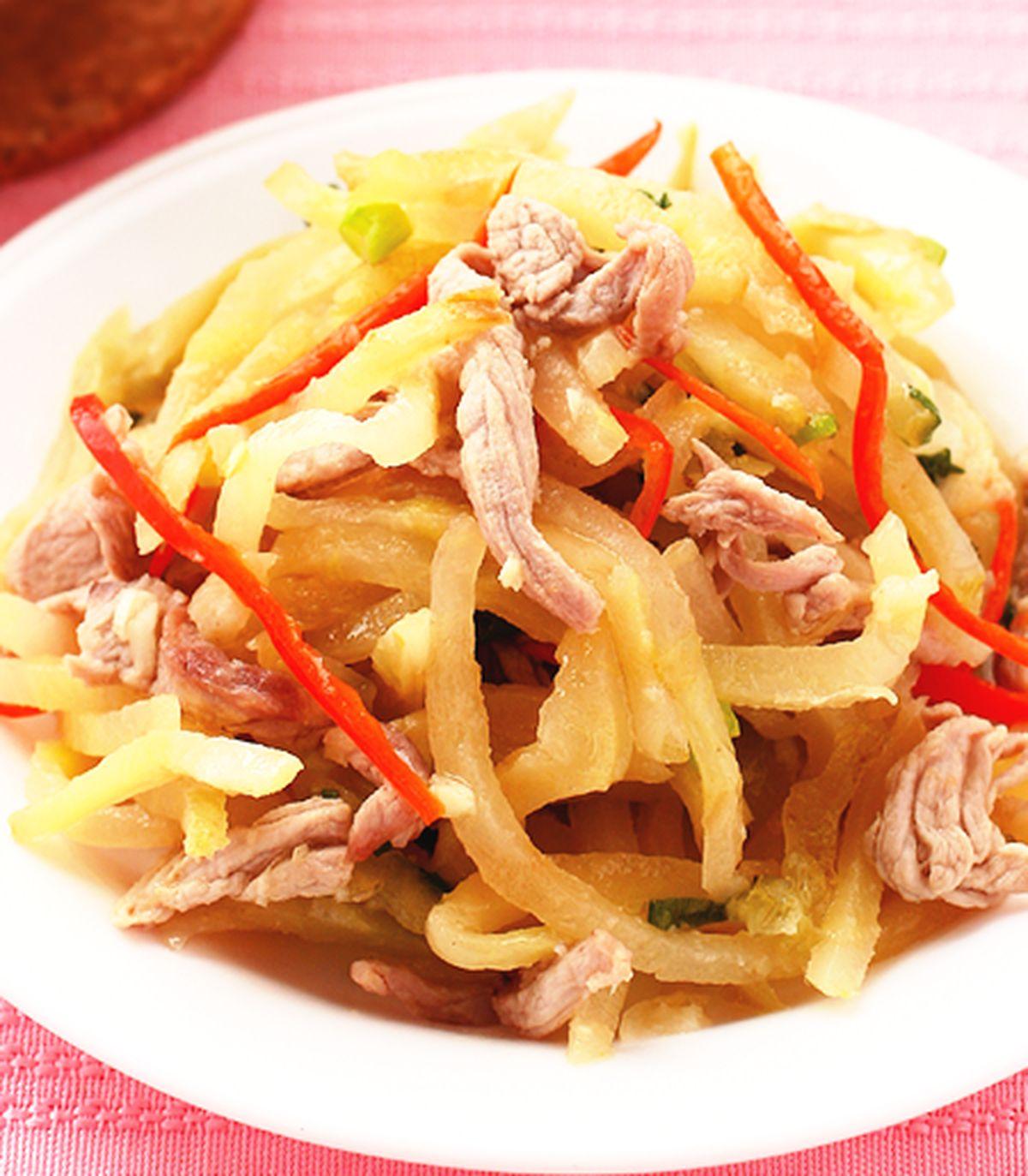 食譜:榨菜肉絲(1)