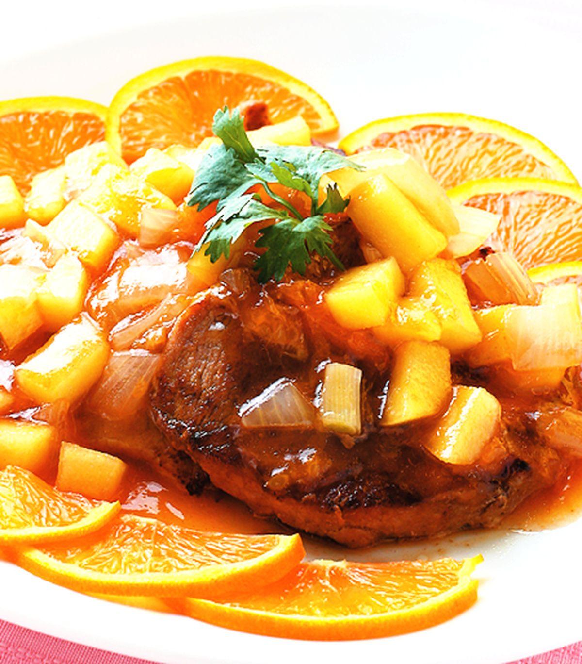 食譜:蘋果洋蔥豬排
