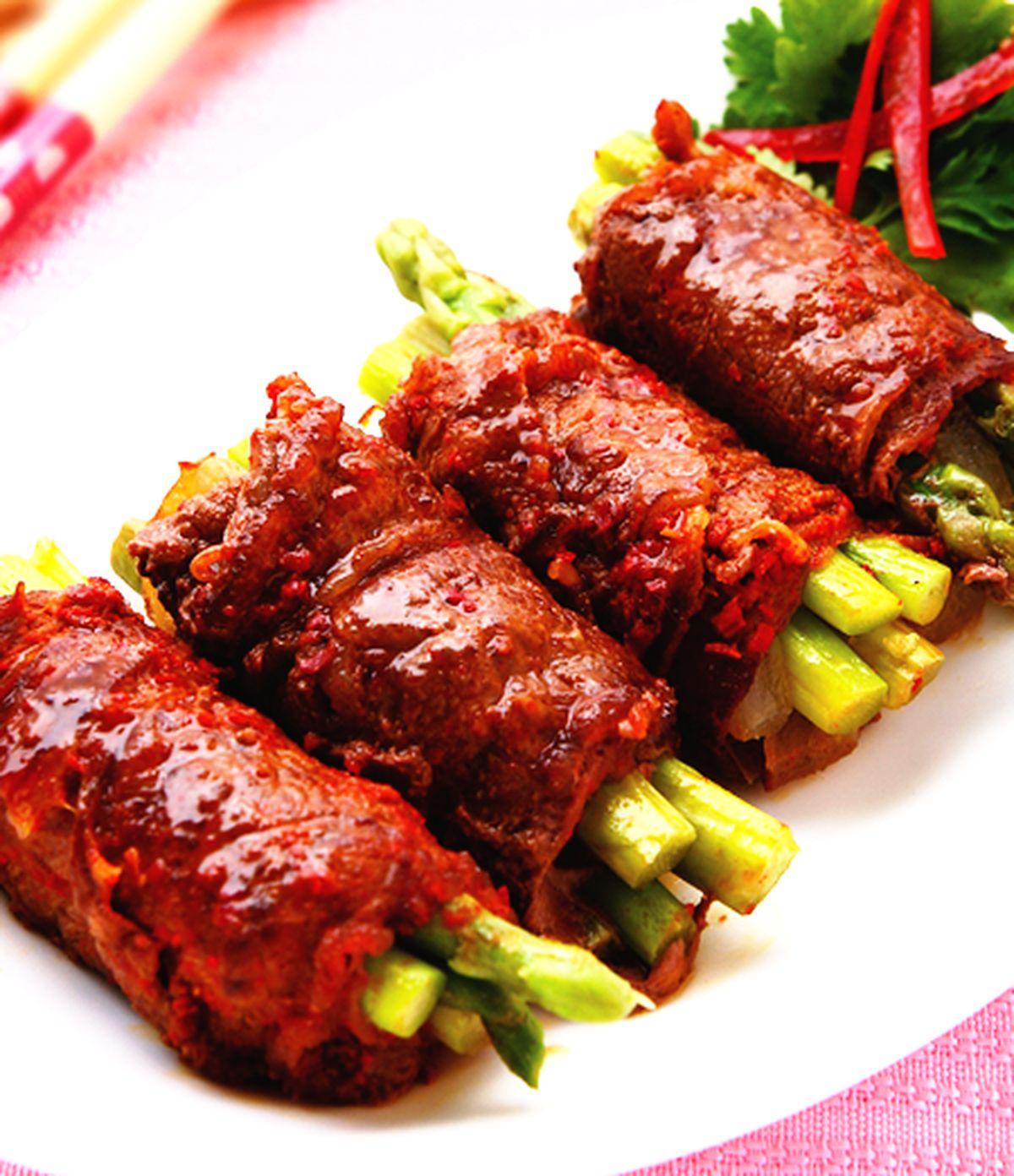 食譜:煎烤牛肉捲