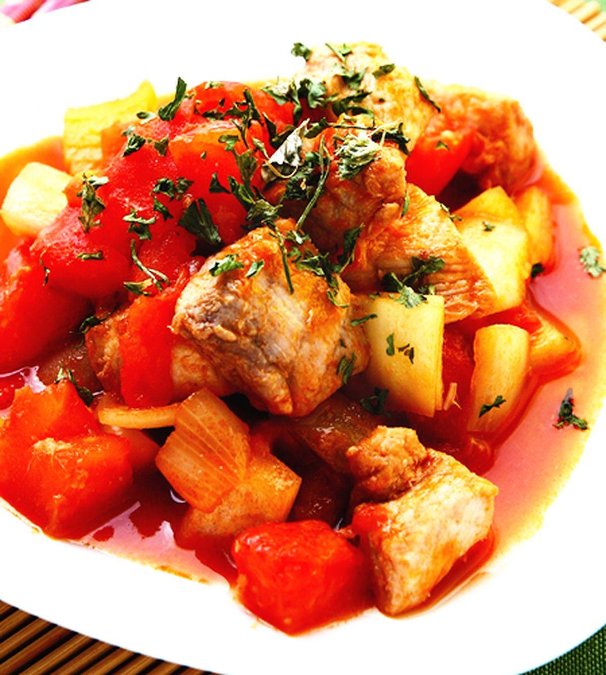 食譜:蕃茄魚塊