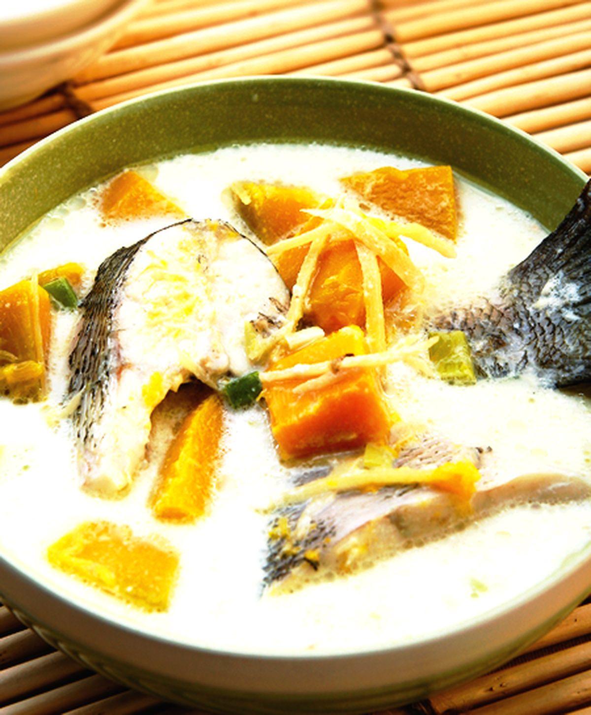 食譜:牛奶南瓜魚