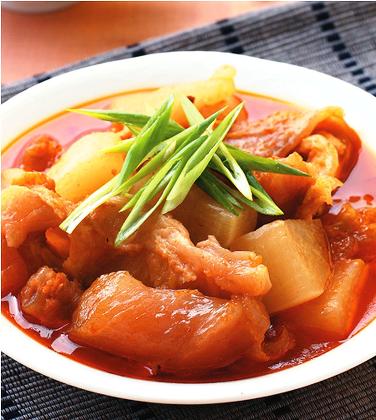 食譜:蘿蔔燉牛筋