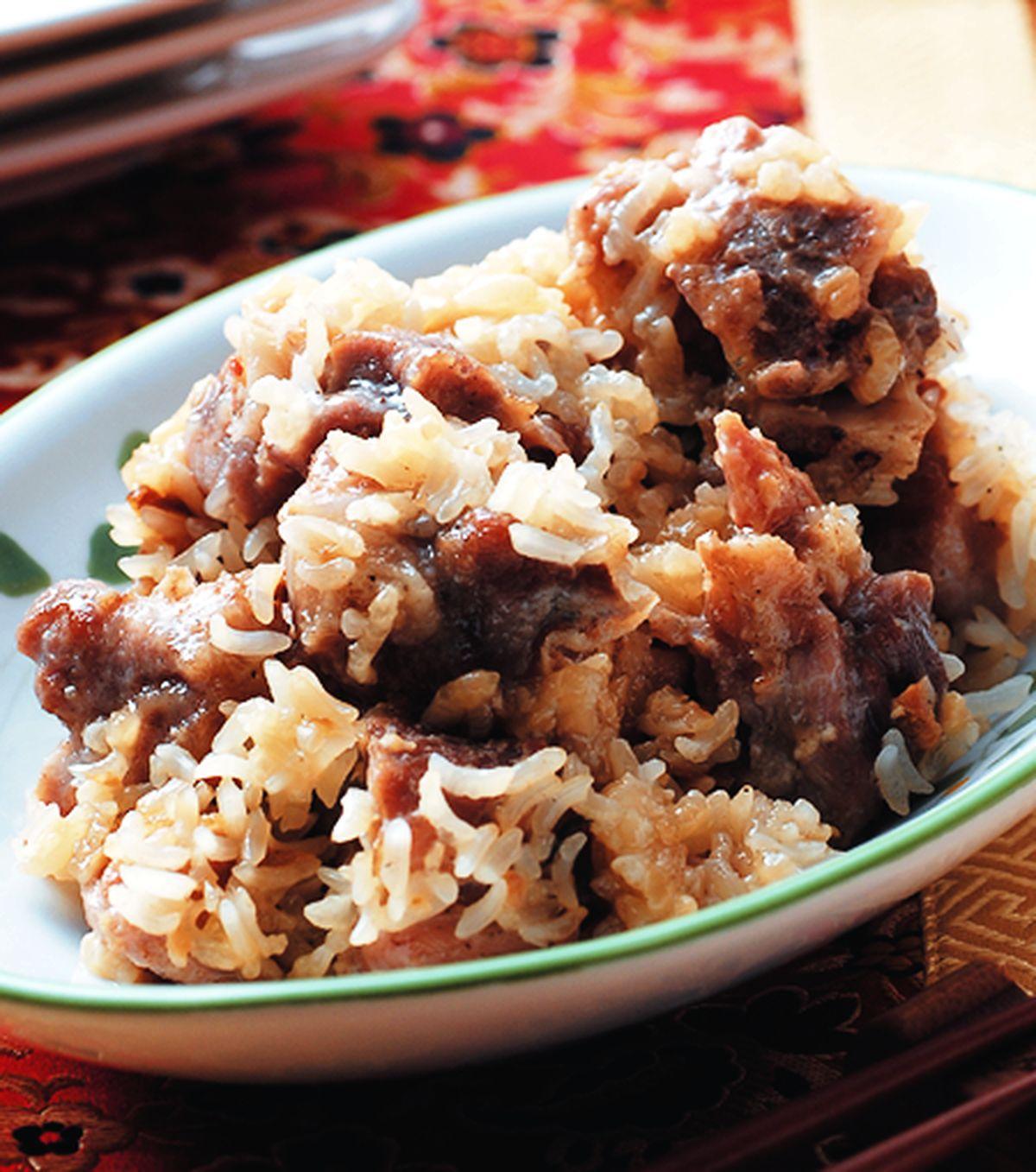 食譜:糯米蒸排骨