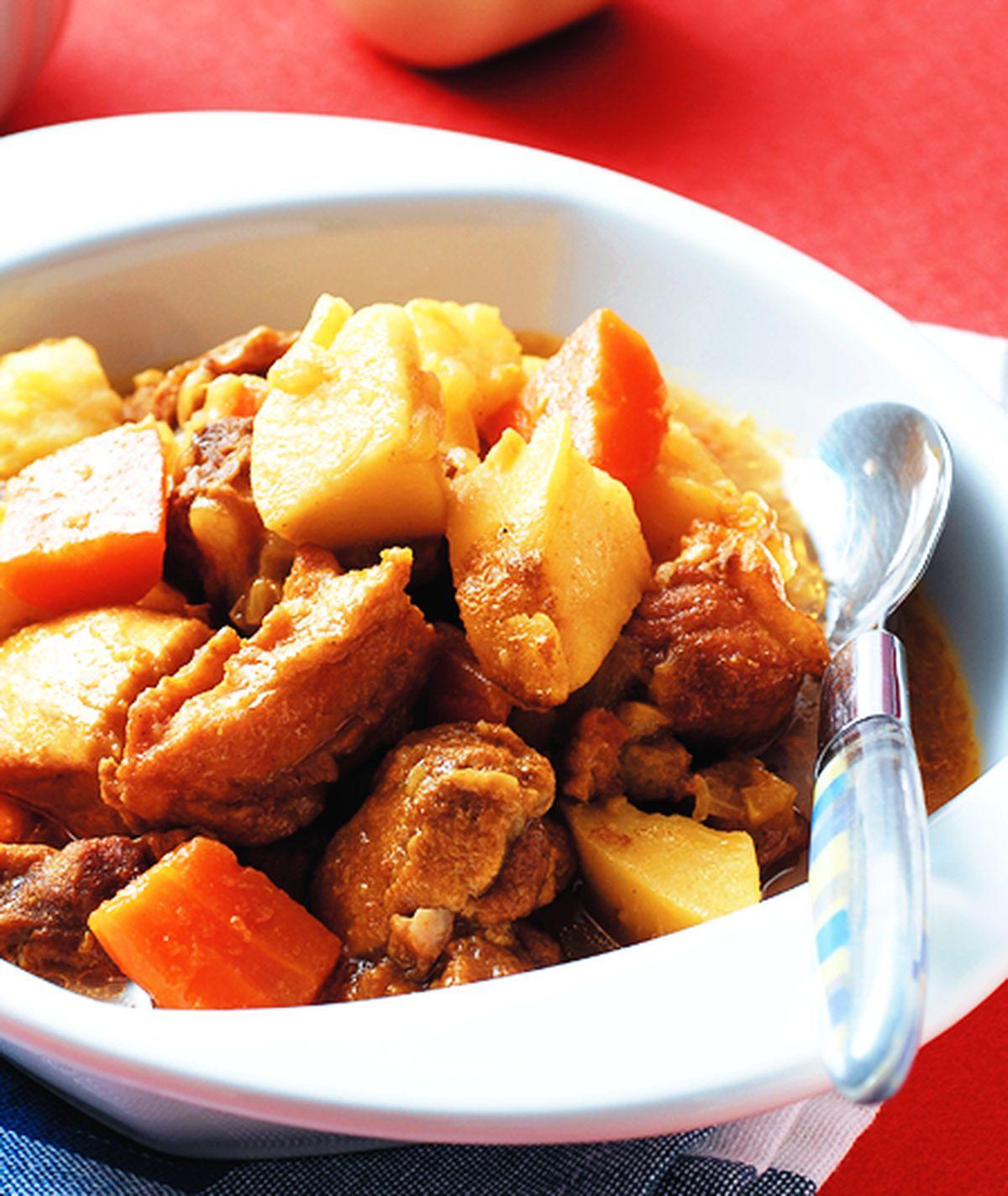 食譜:咖哩排骨(2)