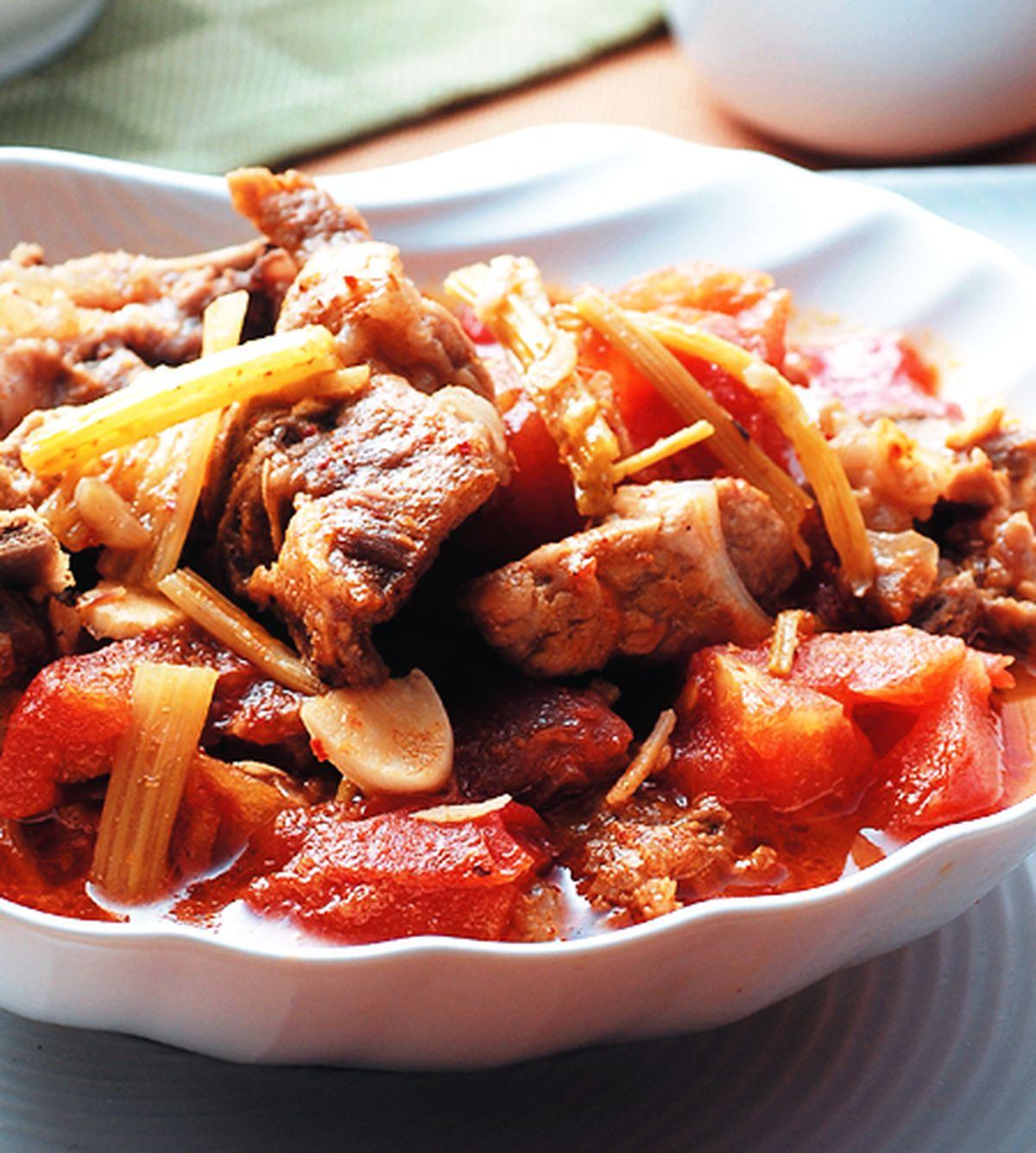 食譜:酸辣蕃茄排骨湯