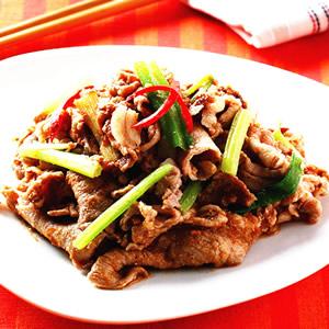 蔥燒豬肉(1)