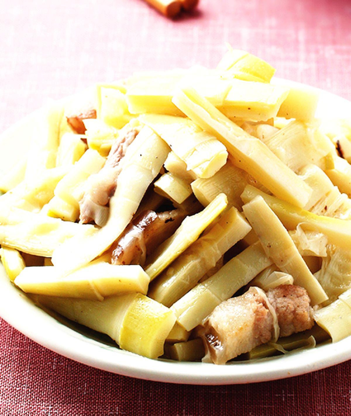 食譜:五花肉燜桂筍