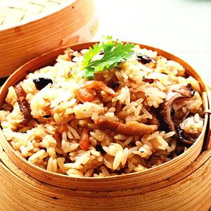 香菇油飯(1)
