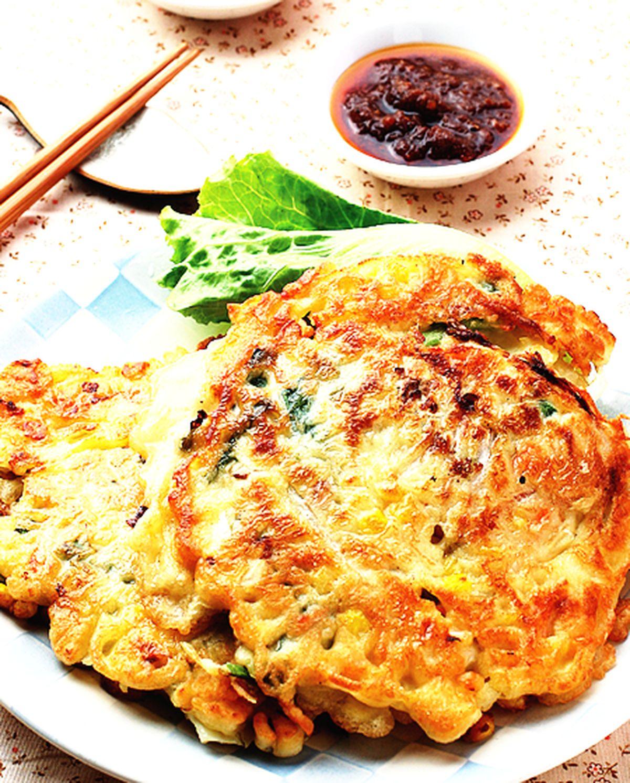 食譜:玉米蔬菜煎餅