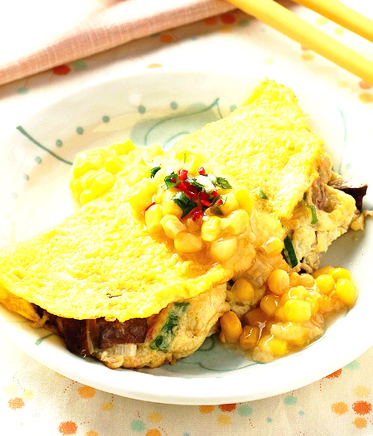 食譜:玉米蛋捲