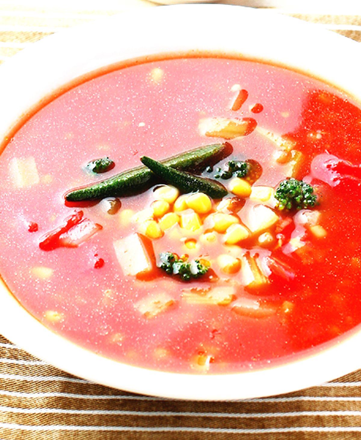 食譜:時蔬蕃茄湯