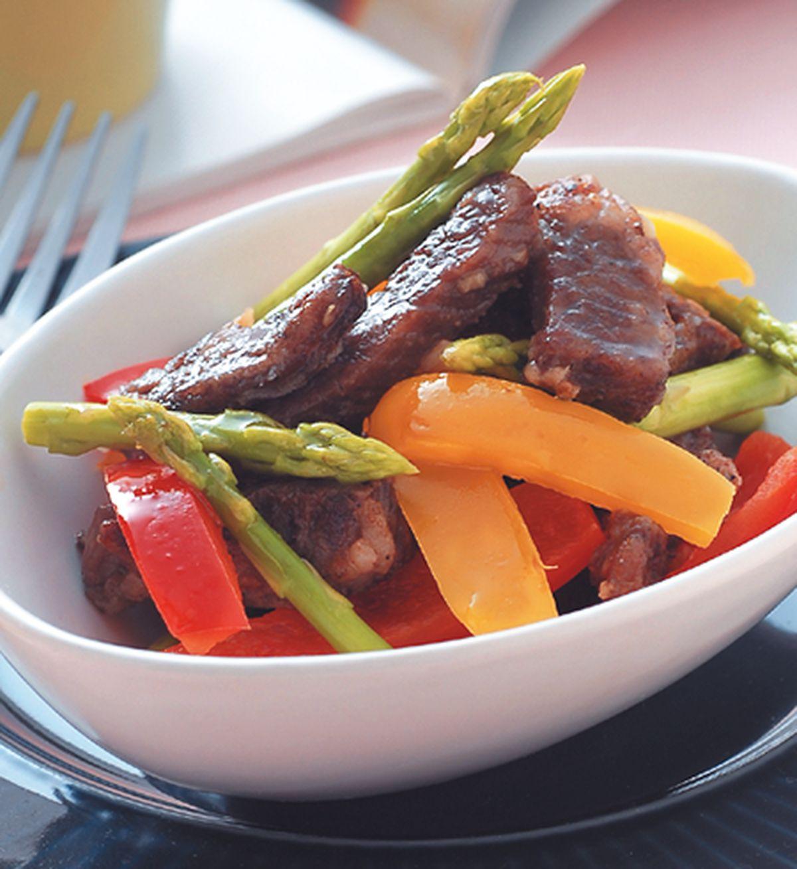 食譜:黑胡椒牛柳(1)