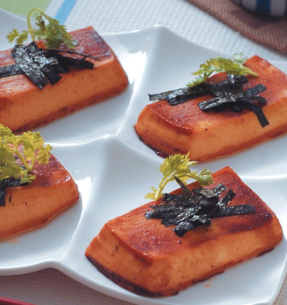 食譜:味噌烤豆腐