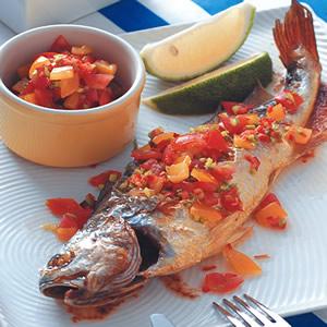 檸檬茄汁魚
