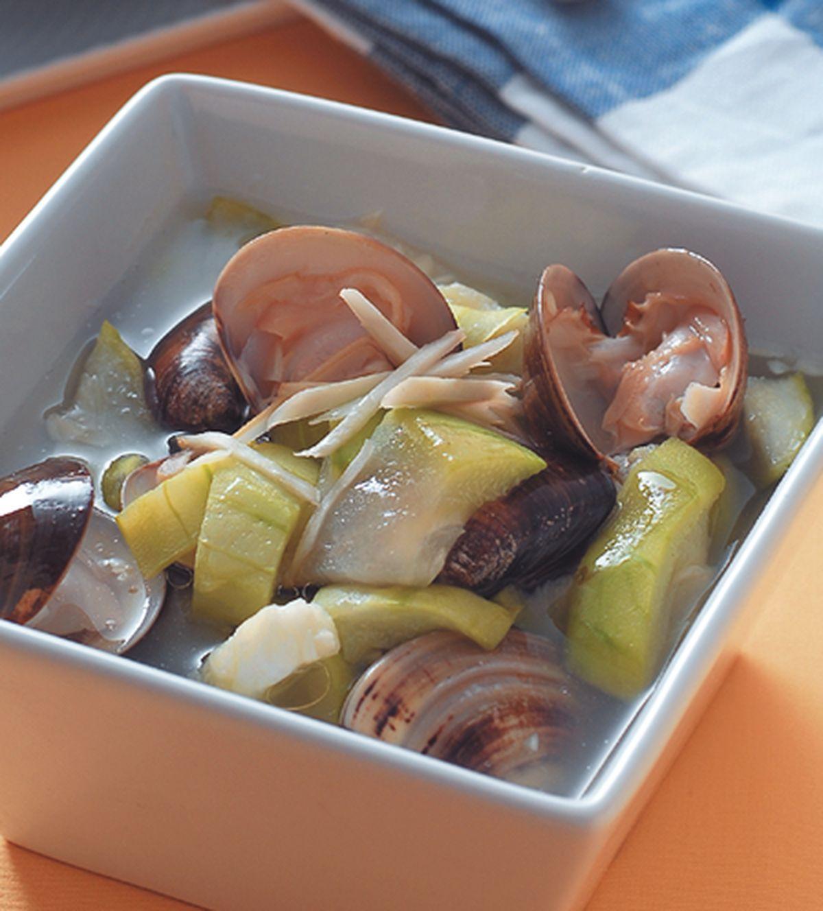 食譜:鮮蛤吐絲瓜