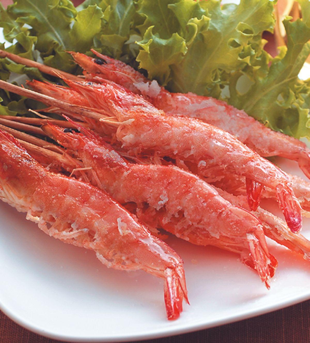 食譜:海鹽烤蝦