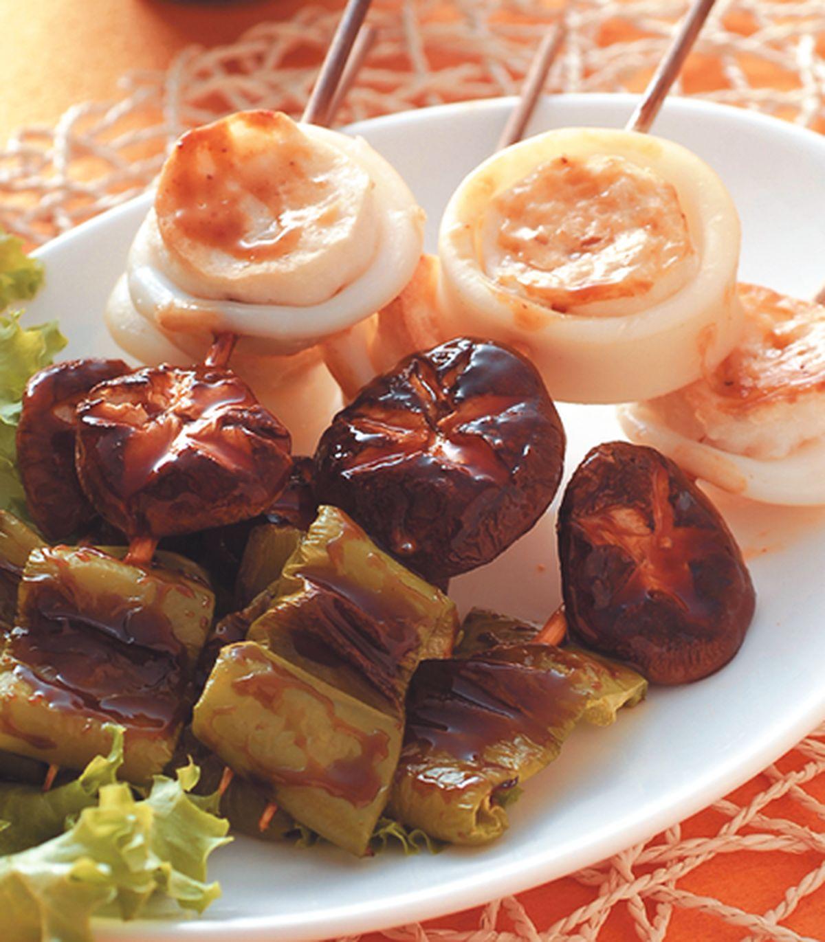 食譜:串燒墨魚
