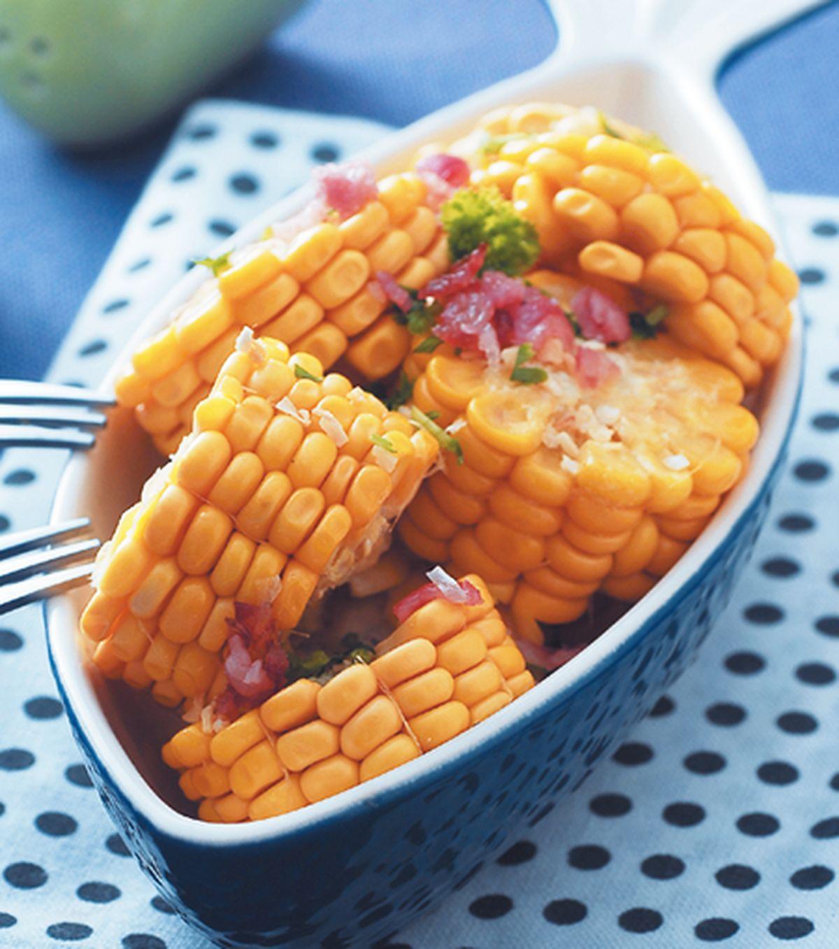 食譜:奶油烤甜玉米