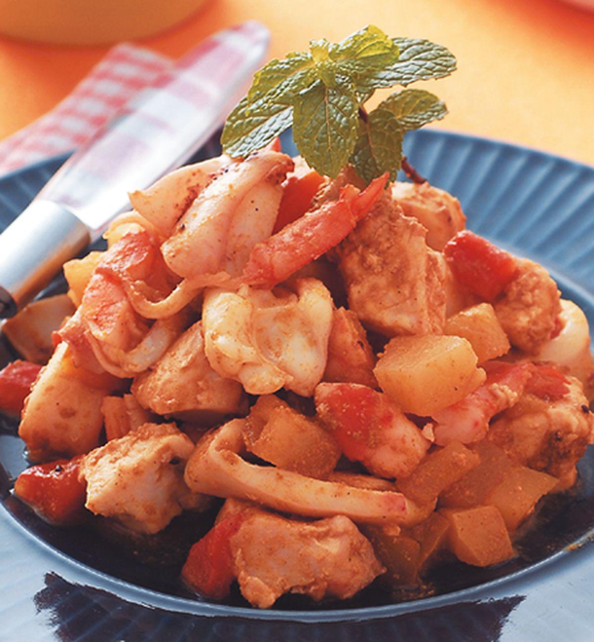 食譜:鮮果燒海鮮