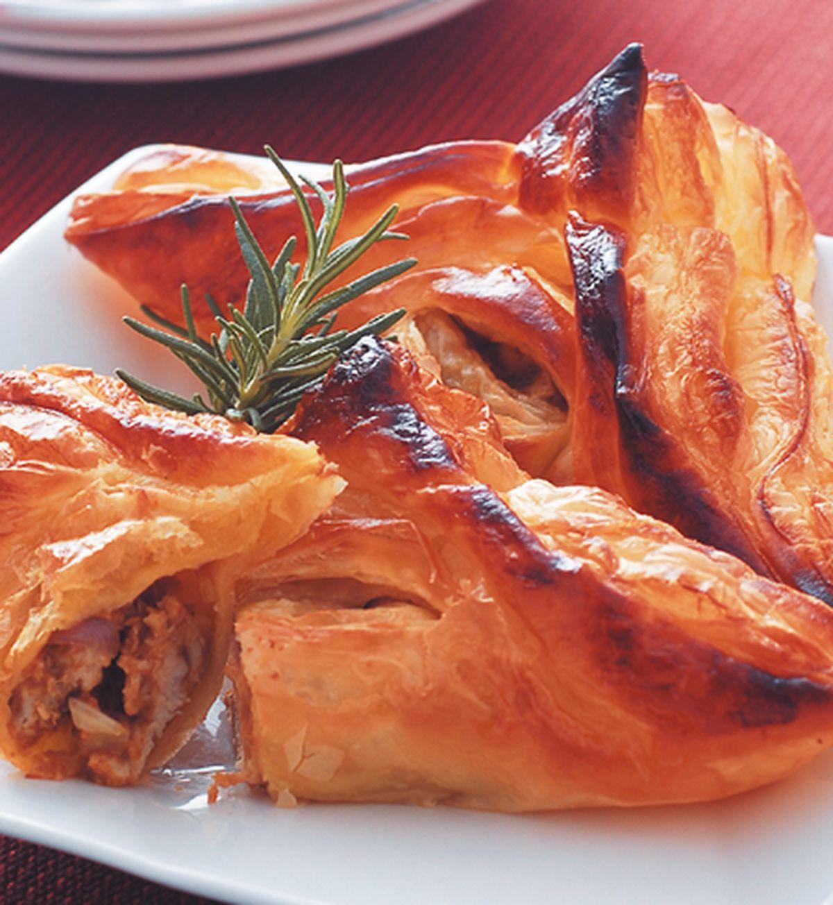 食譜:酥皮咖哩包