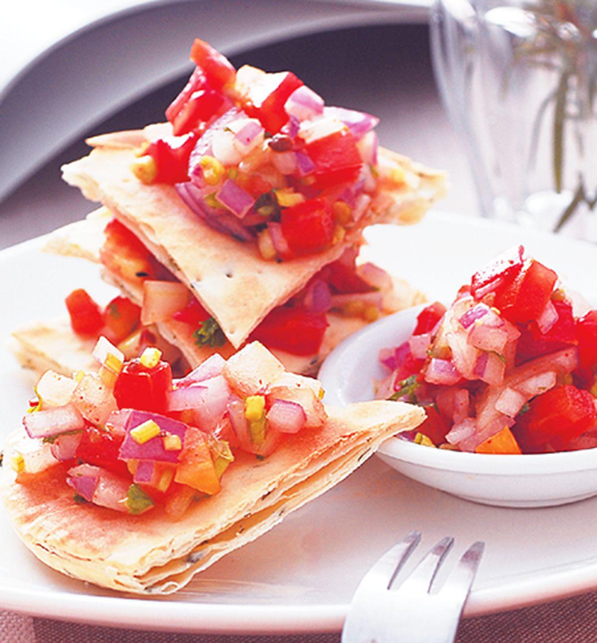 食譜:墨西哥蕃茄烤餅
