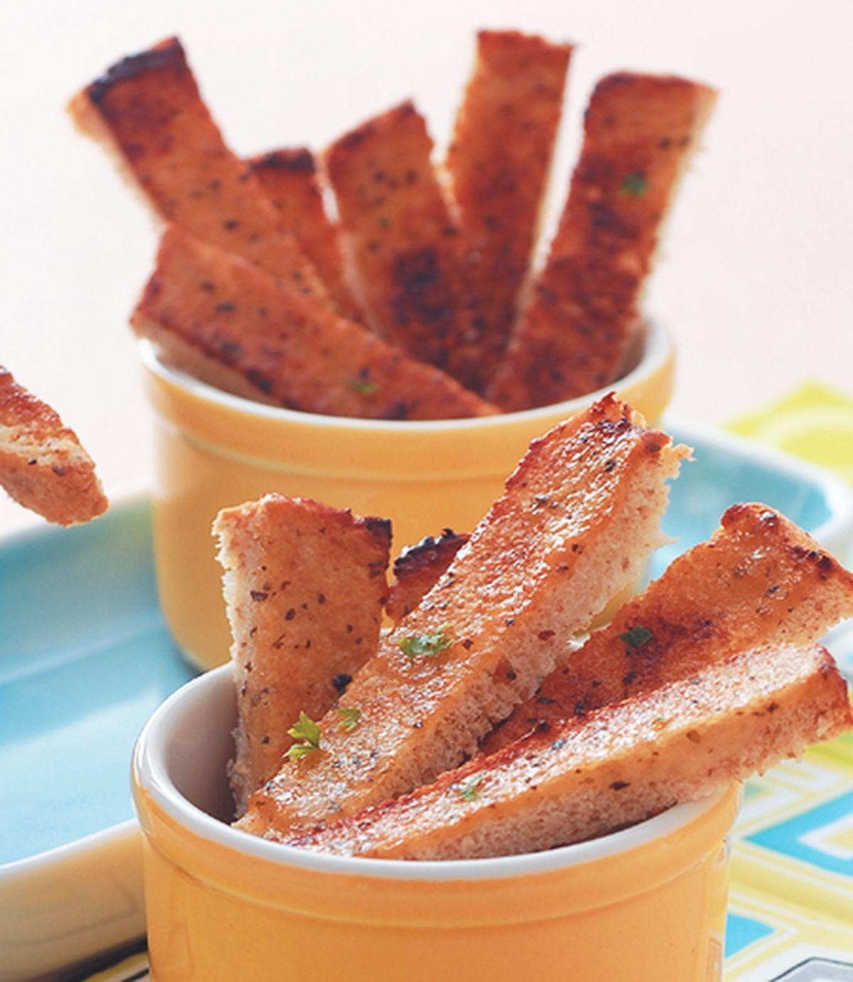 食譜:大蒜麵包棒