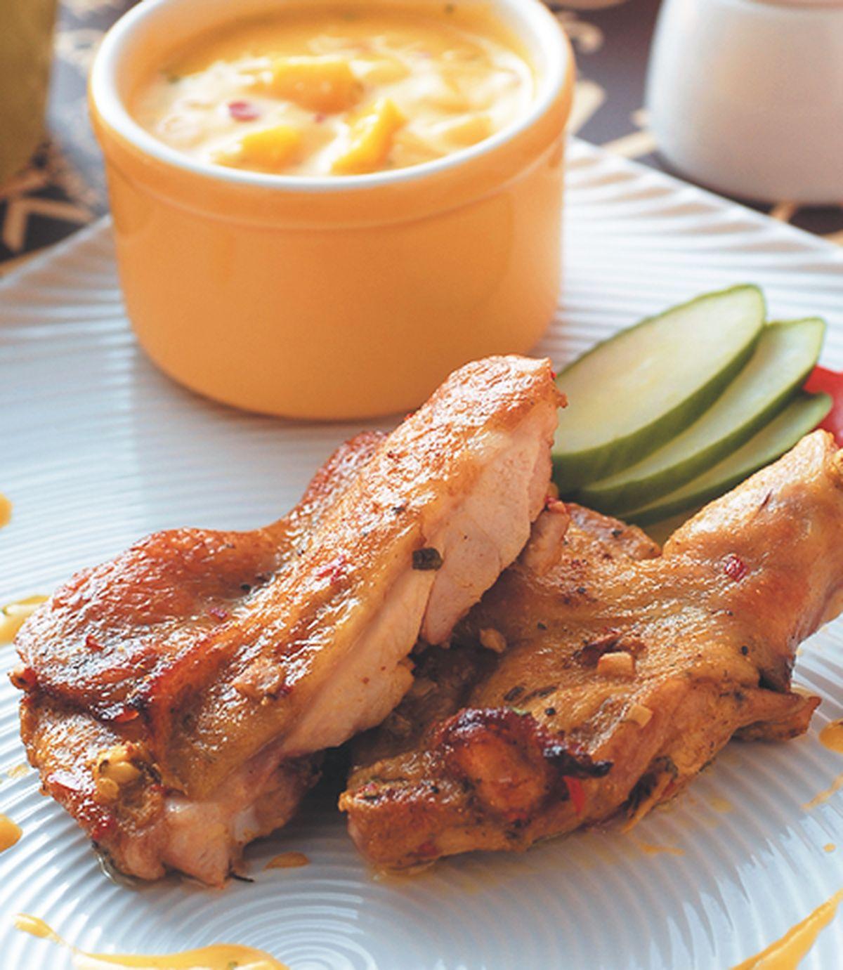 食譜:酪香烤雞腿