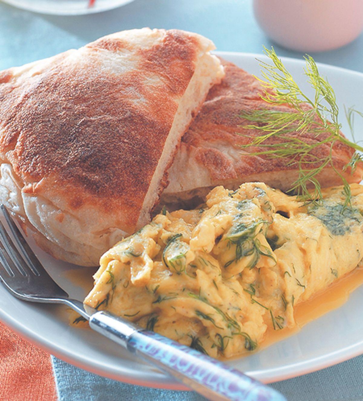 食譜:柔嫩香滑蛋堡