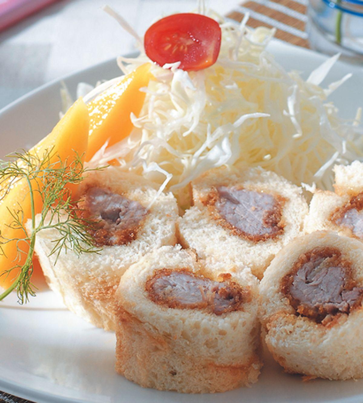 食譜:卡滋里肌土司卷