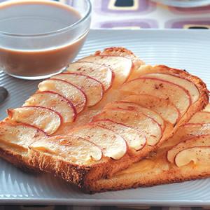 香烤蘋果土司