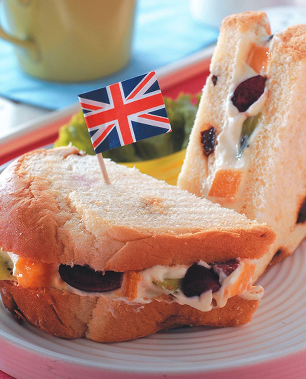食譜:水果三明治