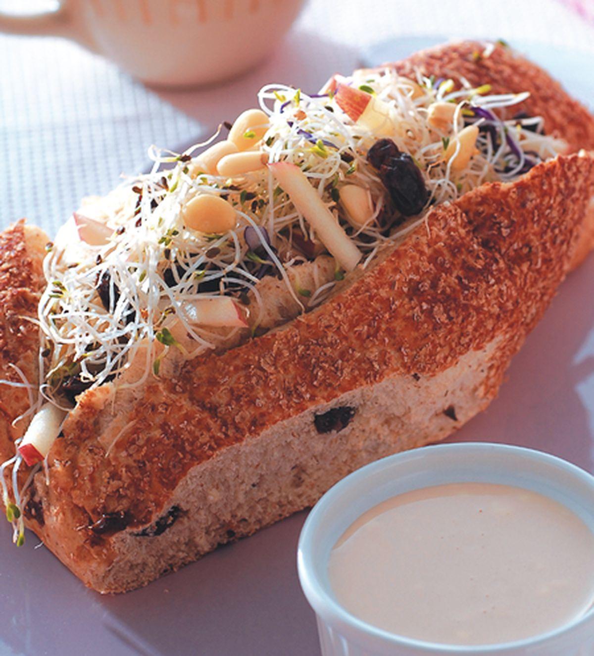 食譜:生機三明治